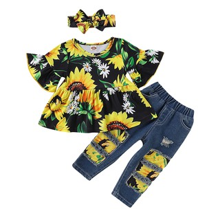 Skin Color, 2-3T Little Girls Summer 2 Pieces Outfit Set 100/% Cartoon Sleeveless Sling Lotus Leaf Design Top Solid Color Short Elastic Band Pants Set