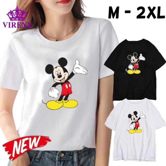 -Malaysia Store- TRIPLE AAA Micky Tee shirt Soft T shirt Good Quality Couple Tee Uniqlo Quality