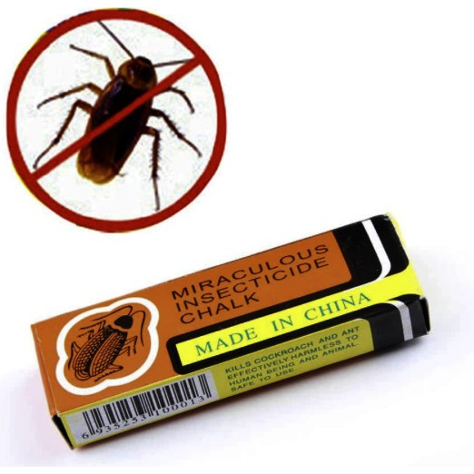 Miraculous Insecticide Chalk Bugs Flea Cockroach Ant Lice Odorless or Insect Killers