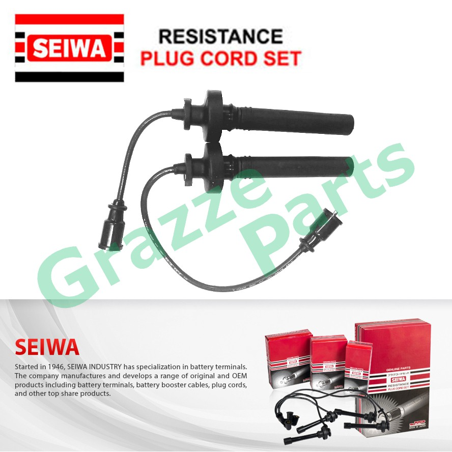Seiwa (Made in Japan) Spark Plug Cable Wire for Proton Waja
