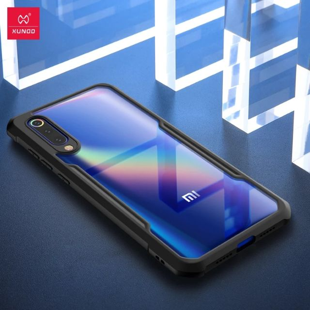Xiaomi Mi9 Mi 9SE Phone Case XUNDD Luxury Airbag Shockproof Case 360 Full Protective Back Cover