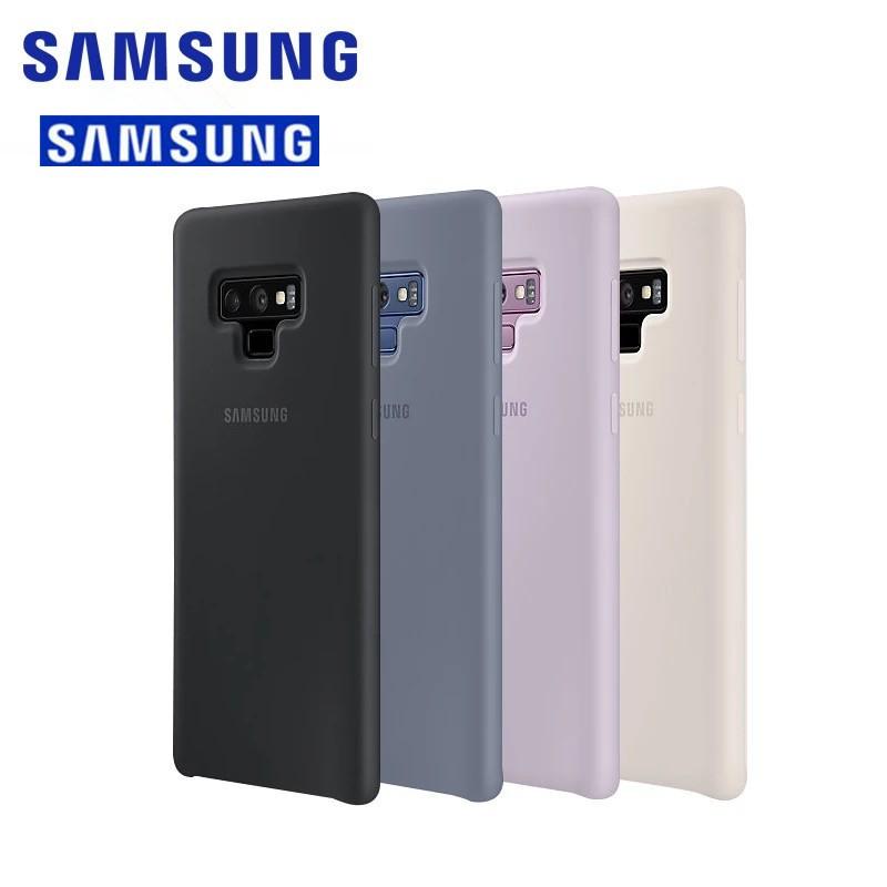separation shoes ca9d3 f6dfd Original Samsung Galaxy Note 9 Case SM-N9600 Soft TPU Cover Liquid Silicone  Case