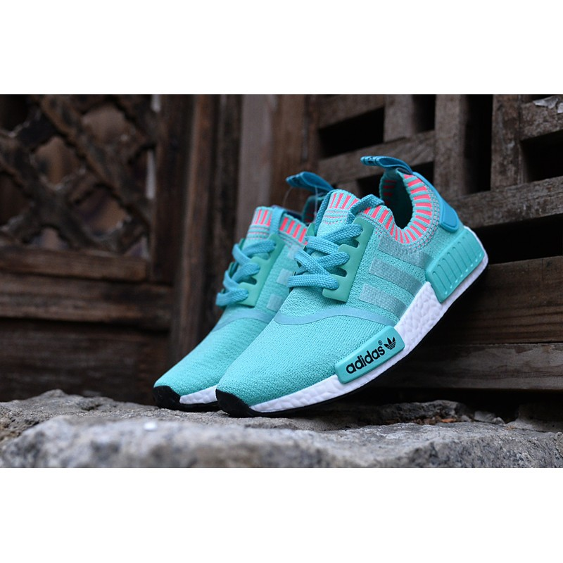721603f9ddf84  Buy Now  Aidida Adidas nmd white jade color boost trend leisure sports  shoes ru