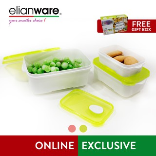 Elianware Bpa Free Special Food Keeper Set Microwavable Container 3 Pcs Sho Malaysia