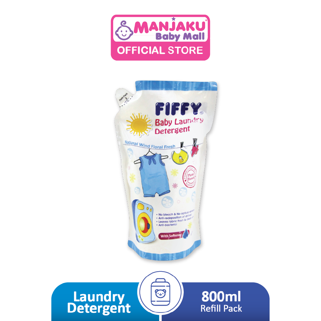 Fiffy Baby Laundry Detergent Refill Pack (800ml)