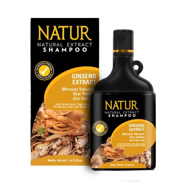 Natur Shampoo Extract Gingseng 140 Ml
