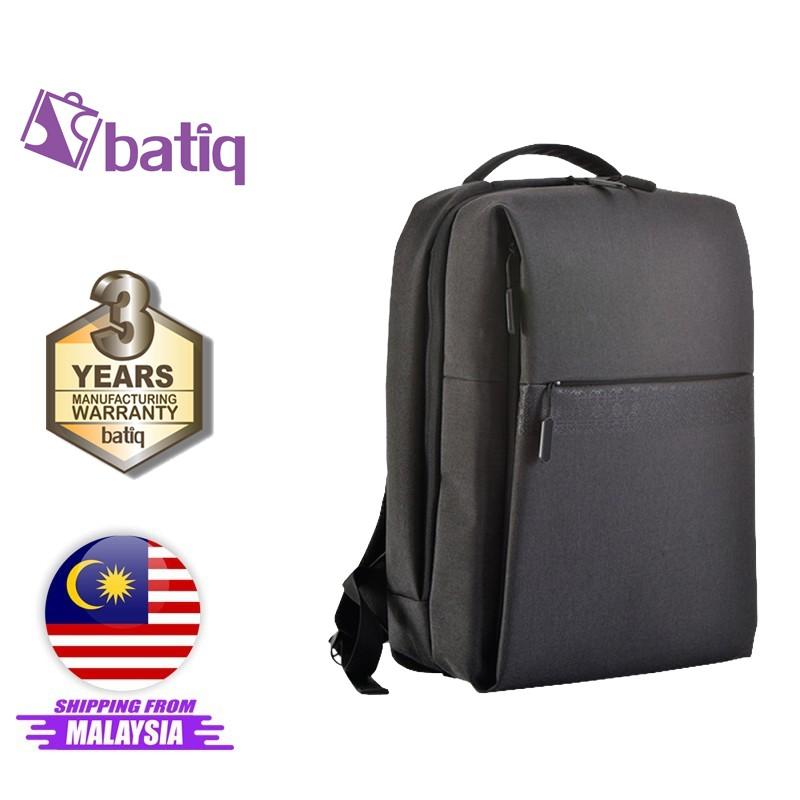 "Batiq i-Gladiator Laptop Backpack Business Bag Office Use Multi Functional Waterproof USB Fast Charging 2.0 (15.6"")"