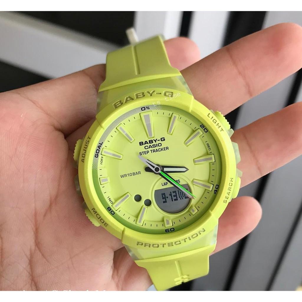 780cd1d246b Watch - Casio BABY G STEP TRACK BGS100-9 - ORIGINAL