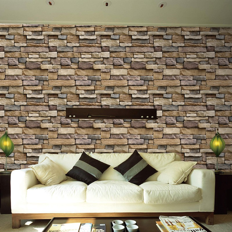 Rock Wall Stickers Diy Photo Pvc Wall Decals Family Wall Stickers
