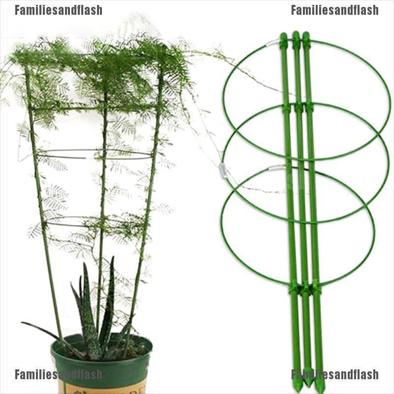 Garden Plant Support Climbing Plants 45cm 60cm Conical Trellis Supporter Frame