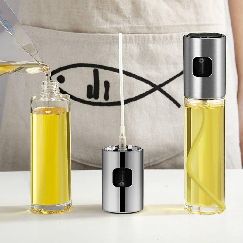 喷雾喷油瓶厨房控油瓶 喷雾烧烤玻璃油壶 调料瓶 按压式喷油壶