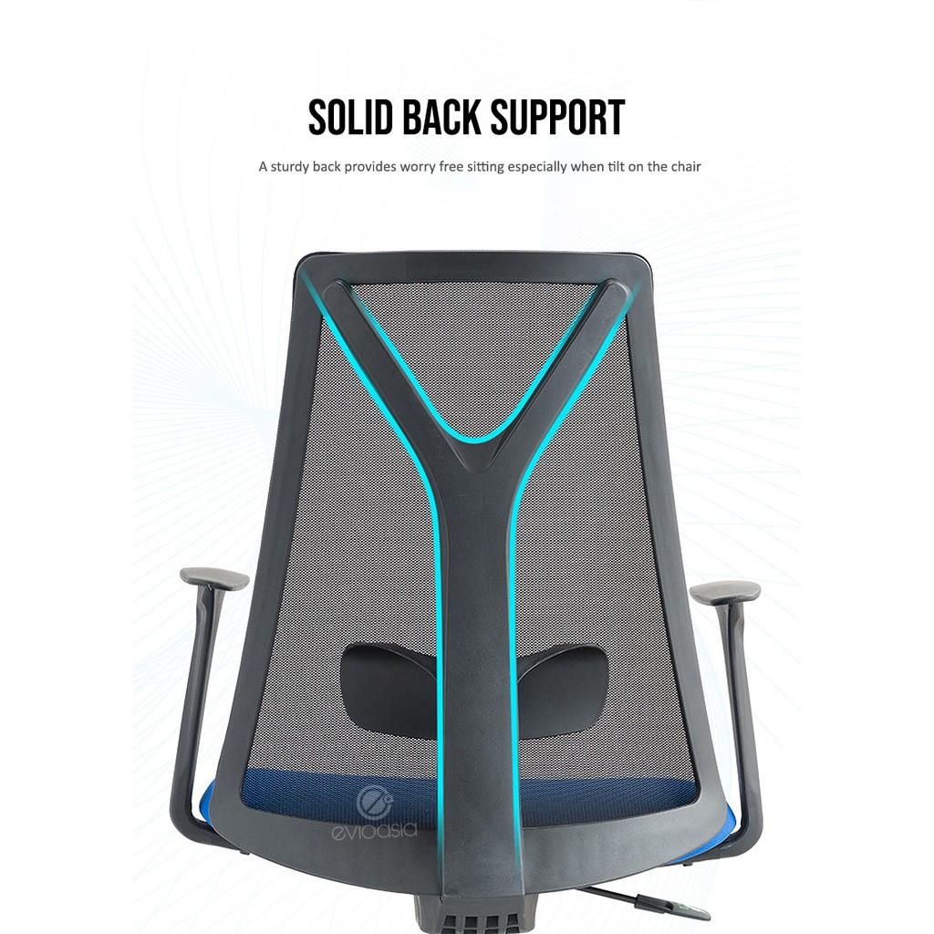 Ergonomic Mid-Back Mesh Office Chair (Model MC119)