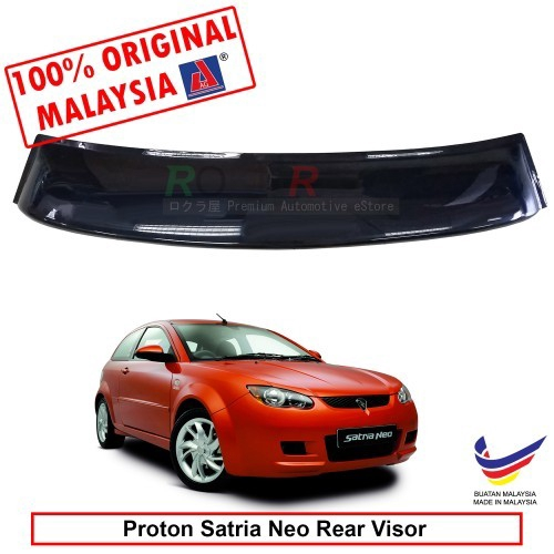 Proton Satria Neo (2nd Gen) 2006-2015 AG Rear Wing Spoiler Visor (Big 20cm)