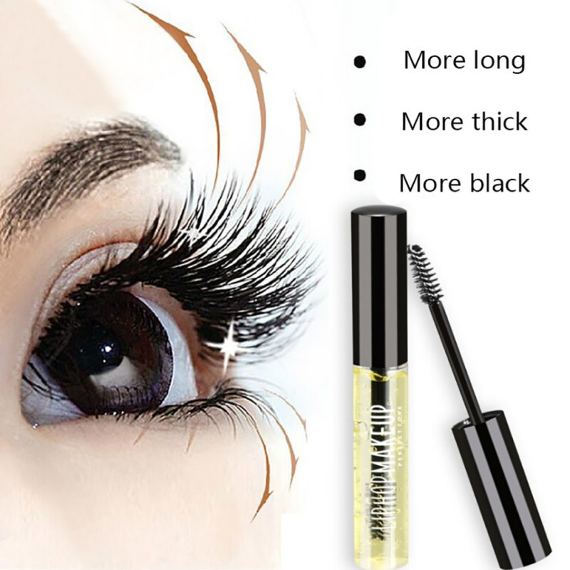 Eyelash Growth Essence Makeup Eyelash Enhancer Stretching Thick Curl