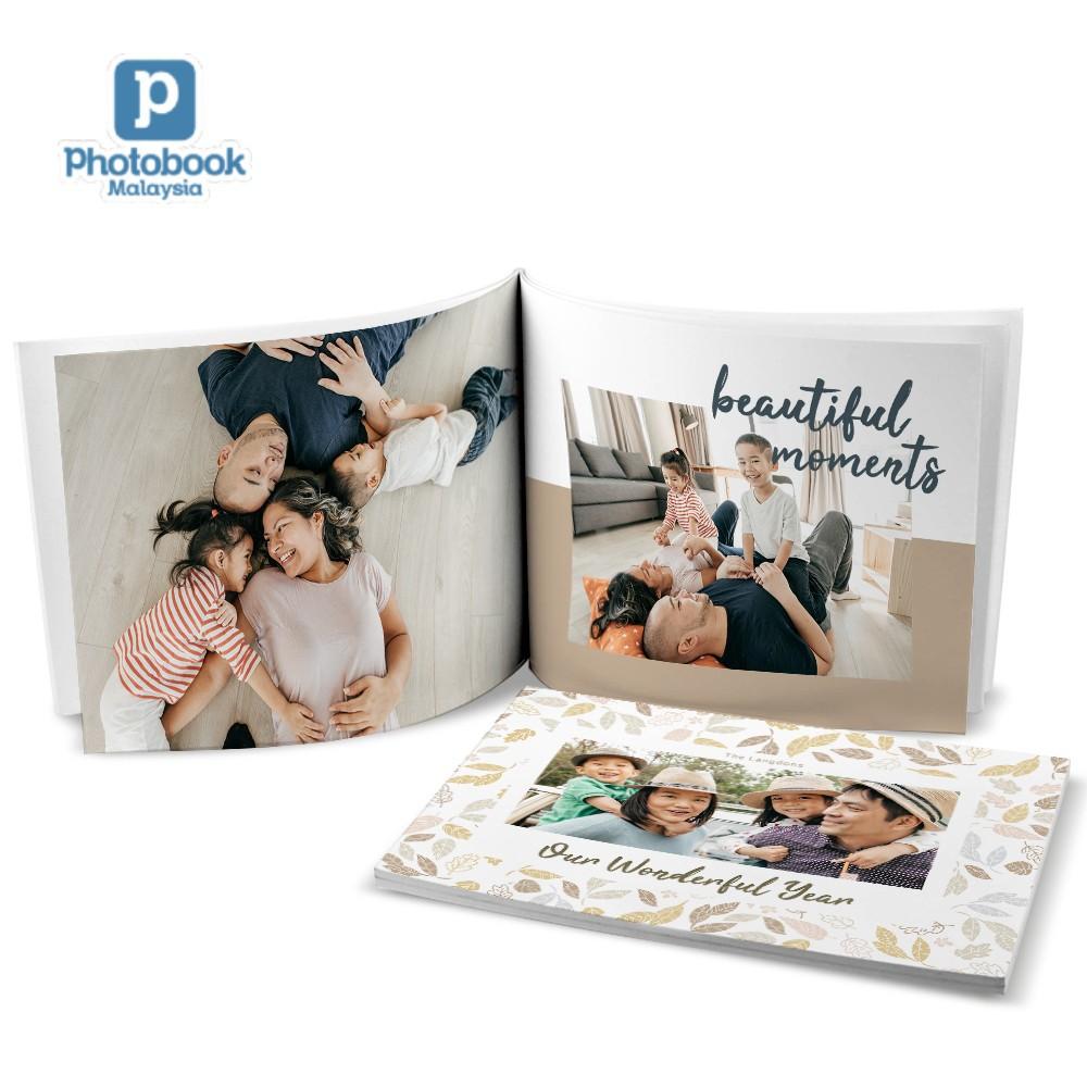 "Photobook Malaysia Landscape Softcover Photobook (8"" x 6"")"