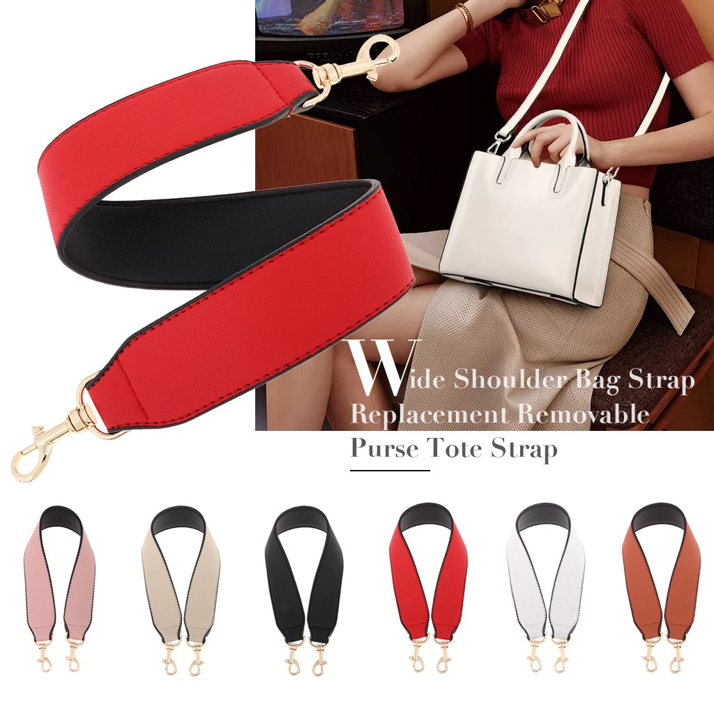 Wide Colorful Replacement Purse Canvas Handle Shoulder Handbag Bag Wallet Strap