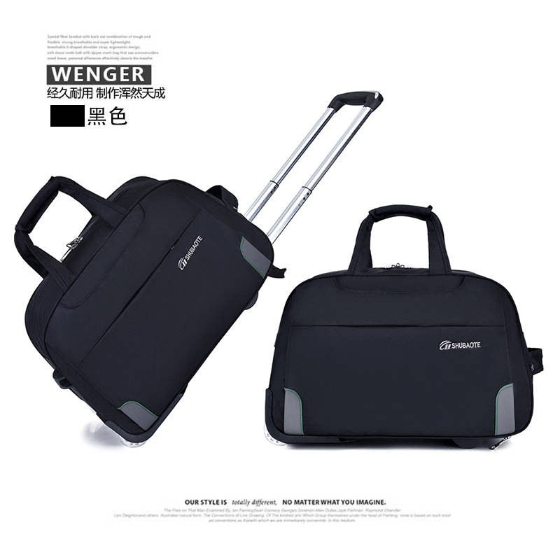 Red Line American Flag Travel Bag Lightweight Luggage Bags Duffle Bag Large Capacity Travel Organizer Bag