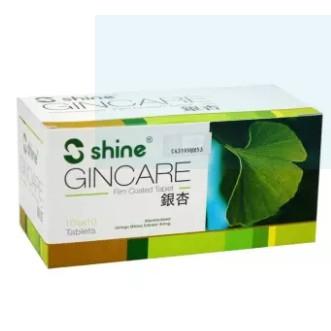 Shine Gincare (Gingko Biloba) 100\'s