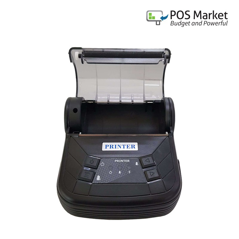 80mm Bluetooth Android Thermal Receipt Printer Ready Stock