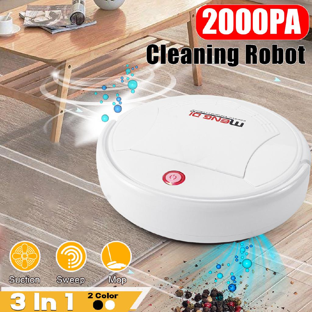 3 In 1 Smart USB Robot Vacuum Cleaner Automatic Sweeping