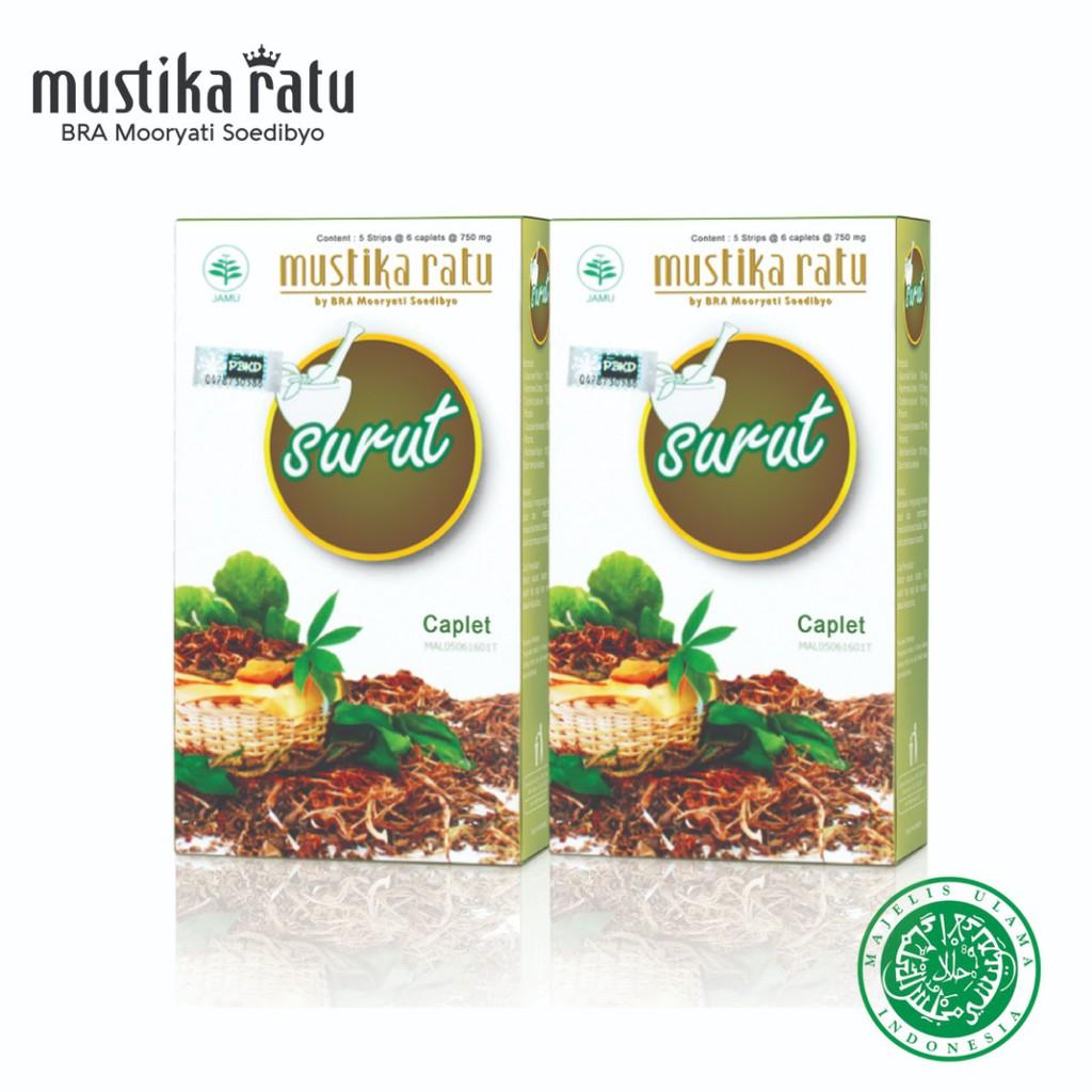 Mustika Ratu Kaplet Surut for Slimming (30's x 2)