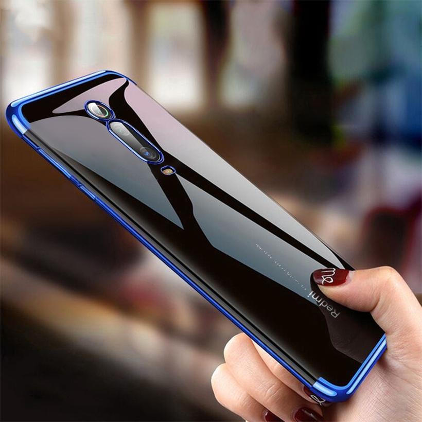 Casing Xiaomi Redmi K20 K20 Pro Mi 9T Pro Phone Case Soft TPU Silicone  Plating Back Case