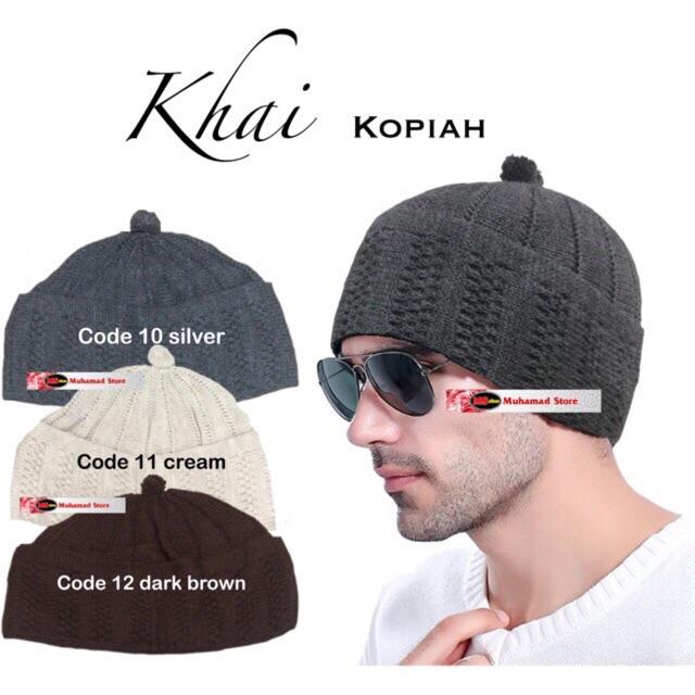 Khai Kopiah Plain Pilihan