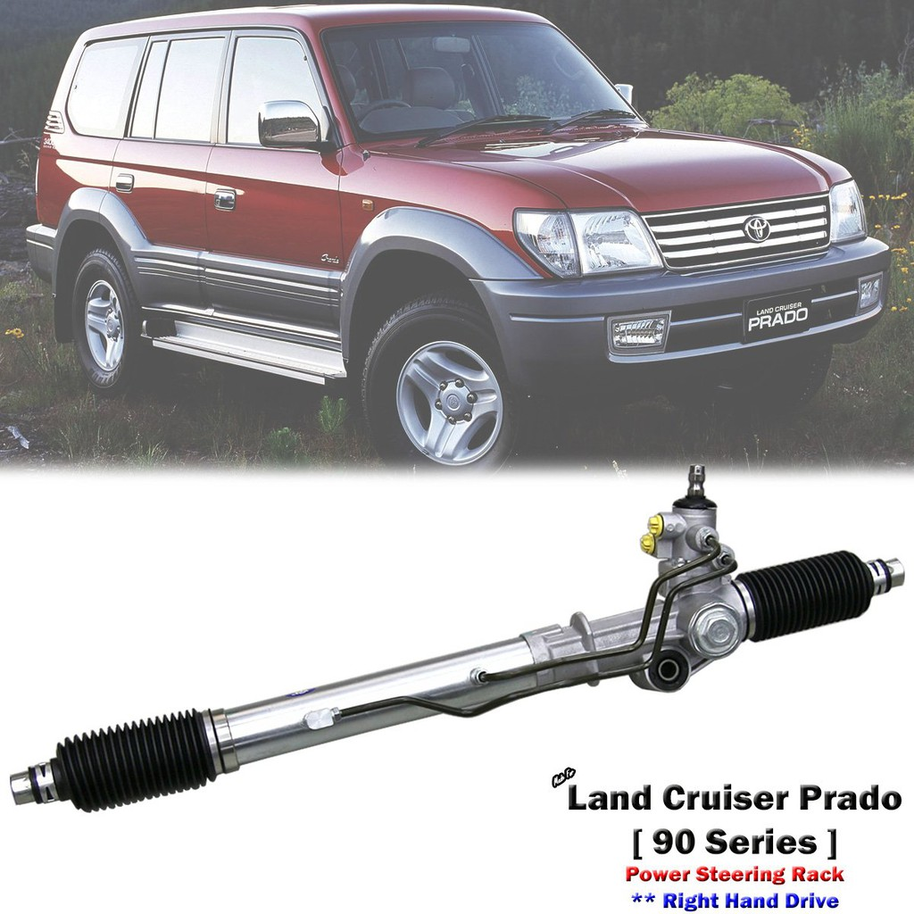 Power Steering Rack & Pinion For Toyota Land Cruiser Prado 90 95 Series  1996-02