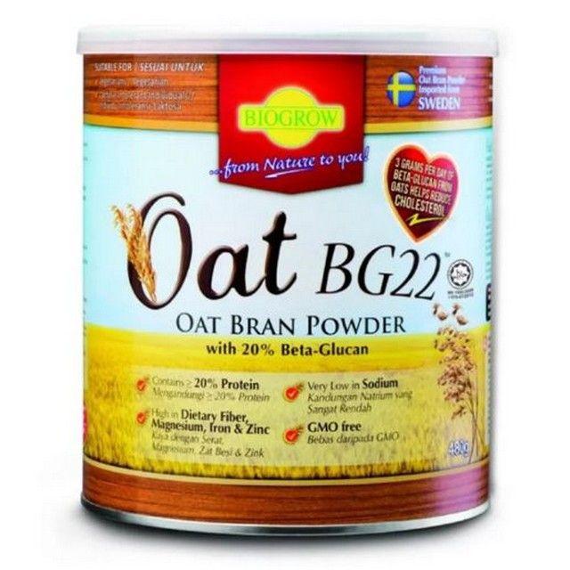 Biogrow BG22 Oat Powder 480g