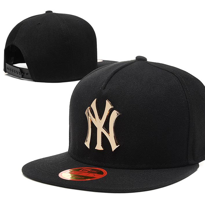 b7f4914e New Baseball Cap Yankees Leather Sun Hat Snapback Hats
