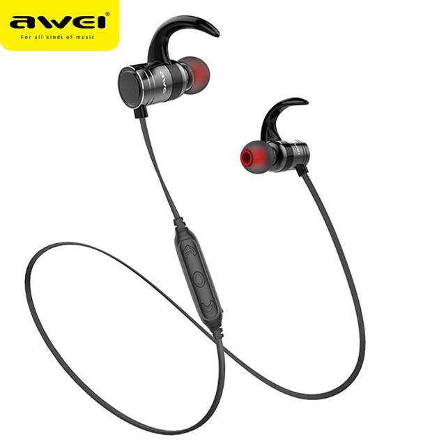 Awei A990BL Wireless Bluetooth stereo music headphones sports earphone with  mic  009f400841b5c