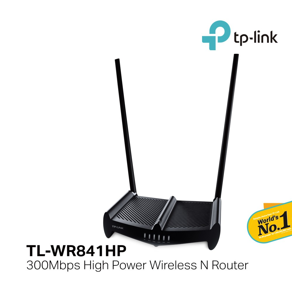 TP-Link TL-WR841HP 300Mbps High Power Wireless N Router/9DBI