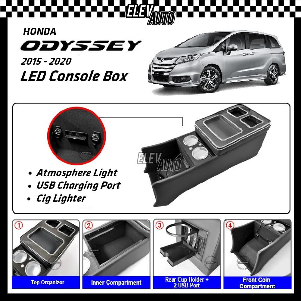 Honda Odyssey 2015-2021 LED Console Box Organizer (MPV-33)