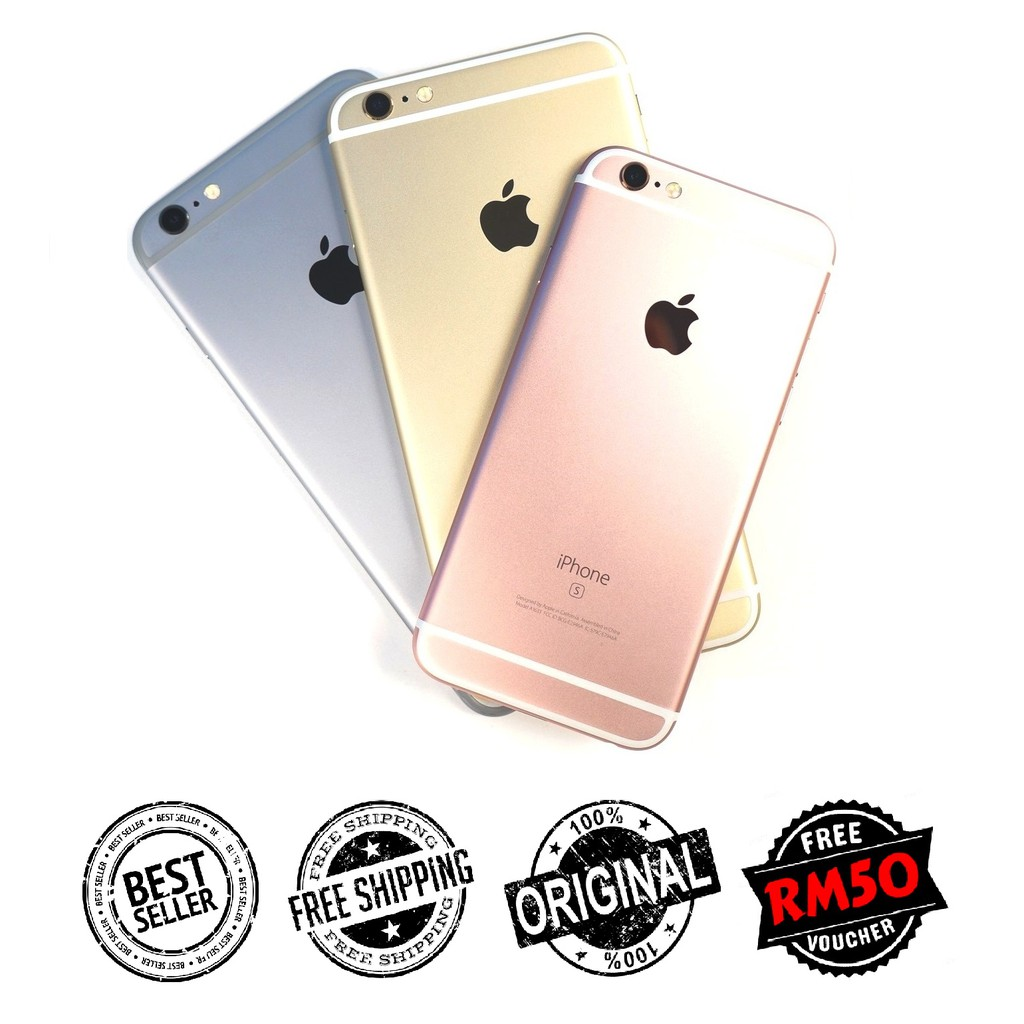 🇲🇾 Ori Apple iPhone 6s 16GB 64GB 128GB Used 90% New [1 Month Warranty] Free Gifts Included