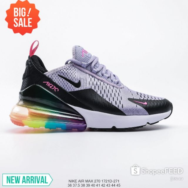 💥PREMIUM💥NIKE AIR MAX 270 1721D-271 LOW TOP CASUAL SNEAKERS RUNNING SHOES FASHION LIFESTYLE - PURPLE