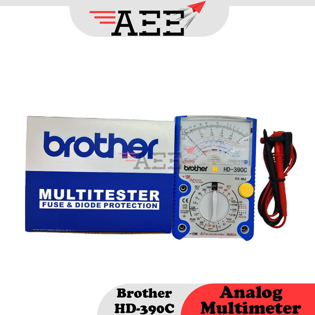 Brother HD-390C Analog Multimeter
