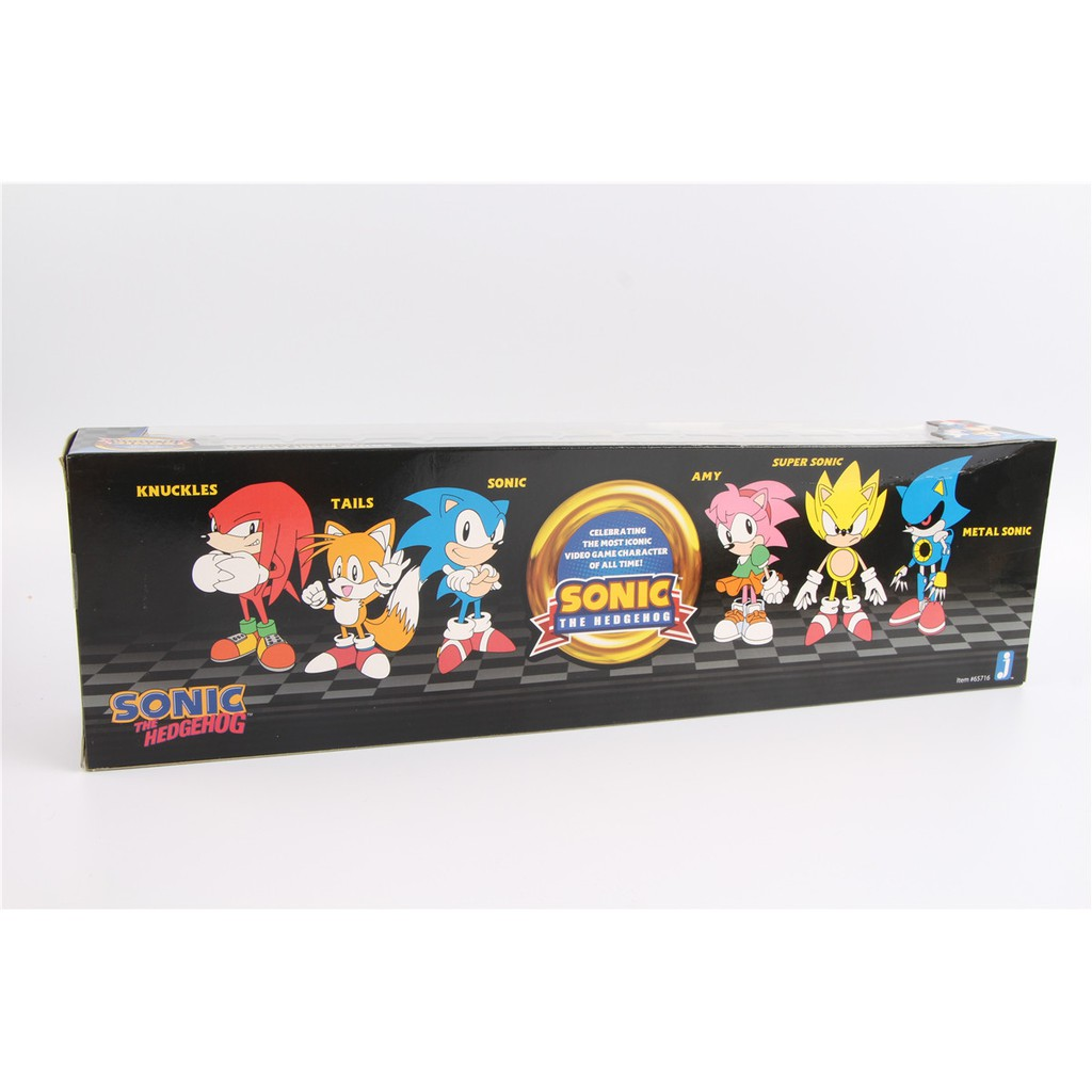 Sonic Action Mini Figures Play Set Knuckles, Sonic, Amy