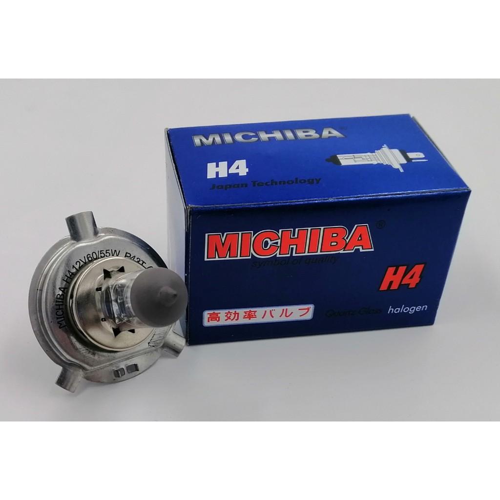 BBMH4 - MICHIBA HALOGEN H4 12V 60/55W P43T BULB