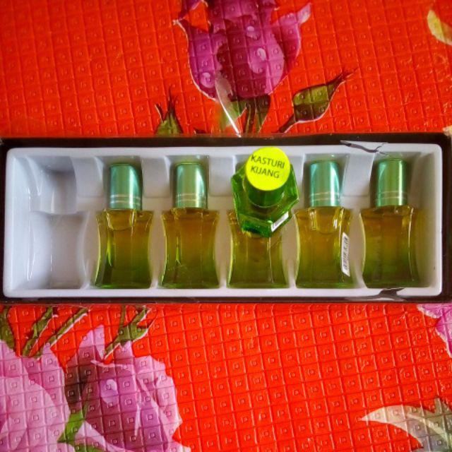 Kasturi Kijang Attar Oil (6 x 6ml)