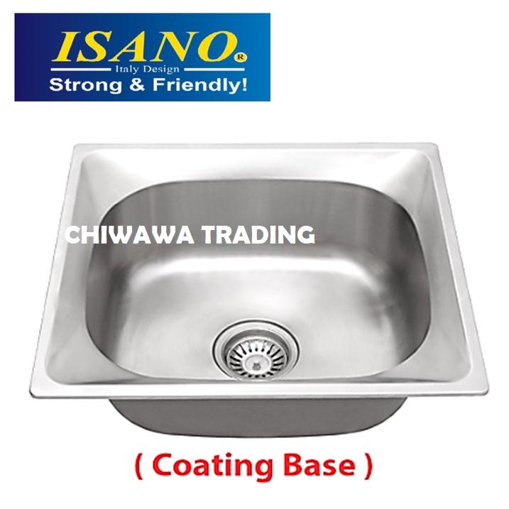 ISANO B818 Stainless Steel Kitchen Sink Bowl Basin Drainer
