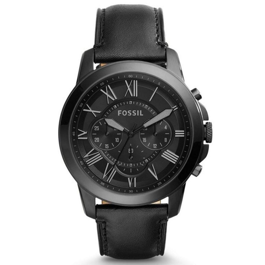 5149115c9 Fossil FS5376 Men's The Minimalist Slim Three-Hand Black Leather Strap Watch  | Shopee Malaysia