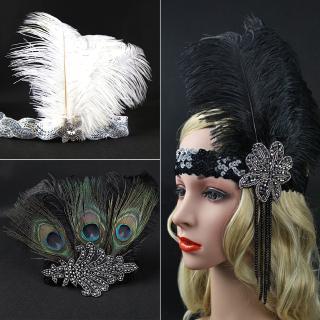 bac3d78ab Women Head Wrap Hair Accessories Vintage Diamante Band Headdress ...