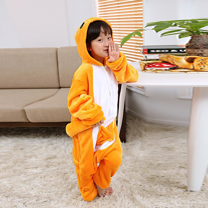 f8f6f896f Animal Pajamas Children Cosplay Costume Sleepwear Warm Pyjamas Kids Anime  Onesie