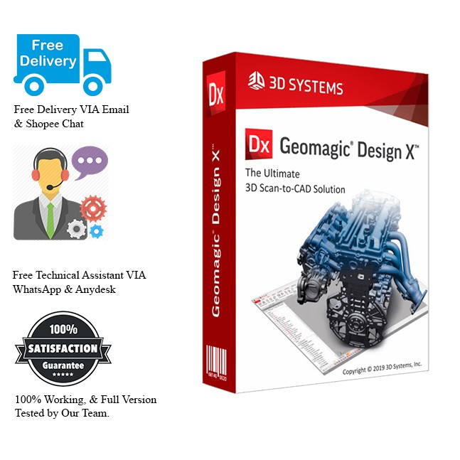 3D Systems Geomagic Design X 2019 Full Version
