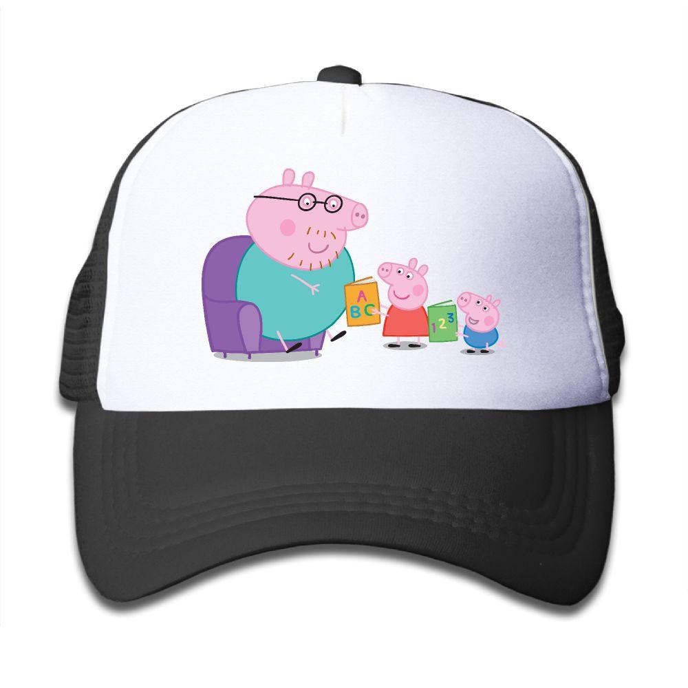 Peppa Pig Family Baby Unisex Net Cap Baseball Cap  235b86a381bf