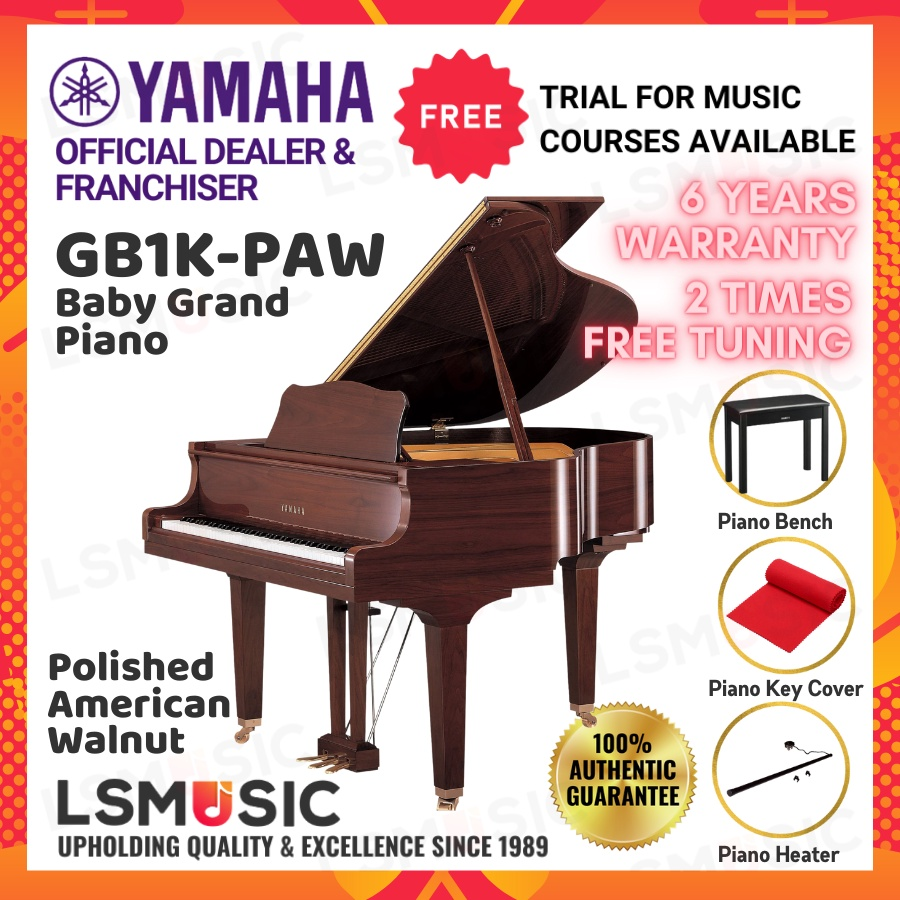 Yamaha Baby Grand Piano GB1K - Open Unit GB 1K PE / PAW / G / FP
