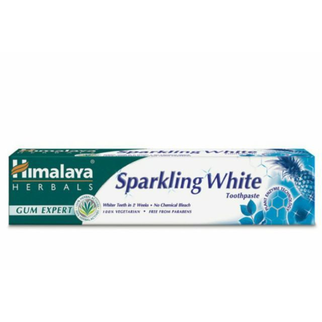 Himalaya Toothpaste Sparkling White 100g [New Stock]