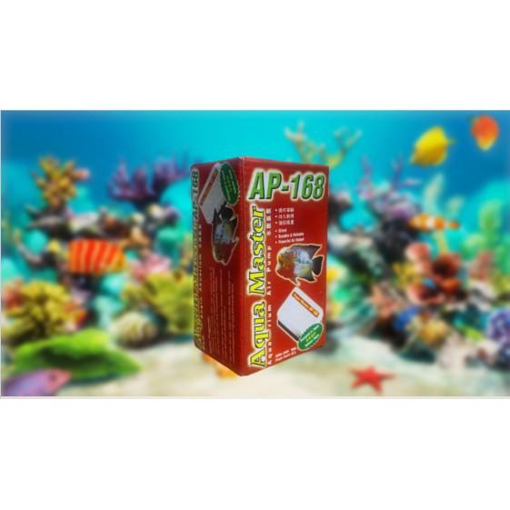 AQUA MASTER Aquarium Air Pump AP-168 - Pam Angin