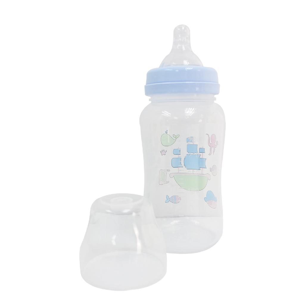 Health Baby PP Milk Feeding Bottle Set (320ml) - Random Colour