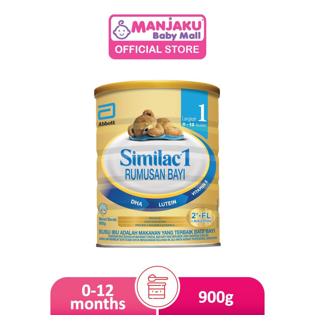 Similac Step 1 Infant Milk Formula (900g)